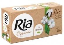 Tampóny Ria Organic Normal